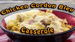 Dutch Oven Chicken Cordon Bleu Casserole