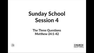 Sunday School - Session 2