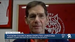 Tucson Councilman takes issue with UArizona/Sumlin buyout