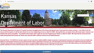 Kansas Department of Labor continues to struggle with influx of unemployment claims