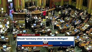 State lawmakers consider ban on sanctuary cities in Michigan