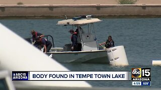Tempe police: Body pulled from Tempe Town Lake