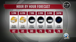 Wednesday afternoon weather update