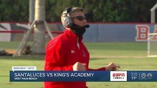 King's Academy runs away from Santaluces