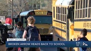 Project Safe Schools: First Day of School for Broken Arrow Public Schools