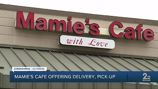 Mamie's Cafe offering delivery, pick-up