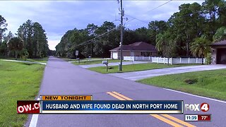 Husband and wife found dead in North Port home
