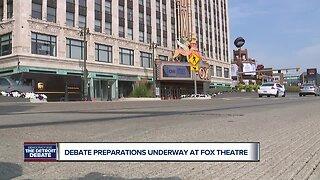 Debate preparations underway at Fox Theatre