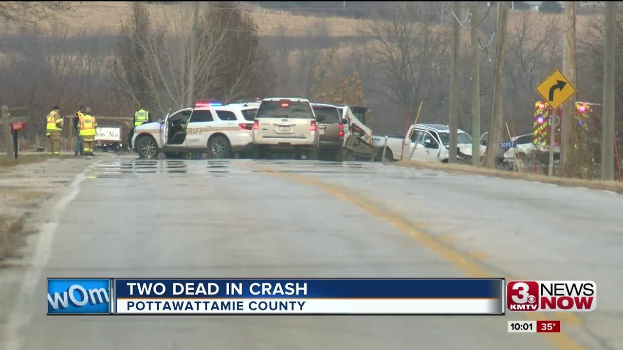 Pottawattamie County Crash Update