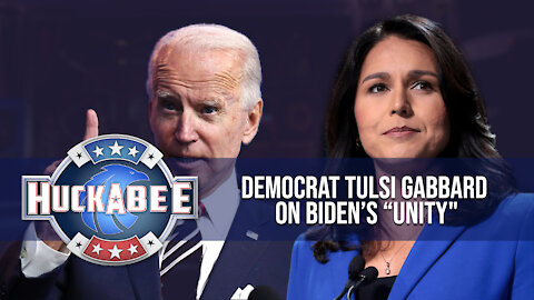 "Interviewing A UNICORN! Sensible Democrat Tulsi Gabbard On Biden's ""Unity"" | Huckabee"