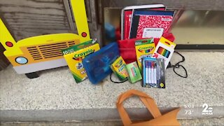 Institute of Notre Dame graduates hold school supply drive