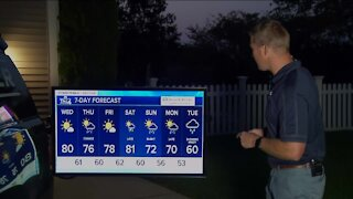 Summer sticks around a little longer, highs near 80 Wednesday