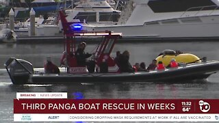 Questions raised as panga boat rescues increase