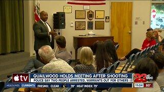 Quailwood community gathers after shooting