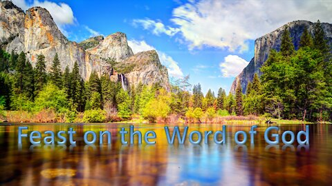 Feast on the Word of God