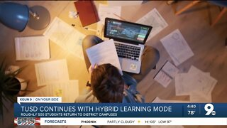 TUSD continues with hybrid learning mode