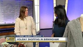 Holiday shopping in Birmingham
