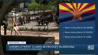 Arizona's unemployment claims skyrocket since COVID-19