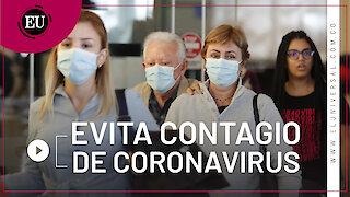 La mejor forma de evitar un contagio por coronavirus