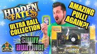 Hidden Fates Ultra Ball Collection | Shiny Hunting | Pokemon Opening