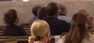 People return to church for Easter amid pandemic