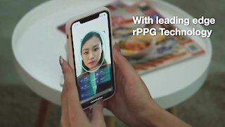 Smartphone app checks vital signs with face scan