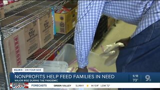 Local nonprofit helps food insecure families through pandemic