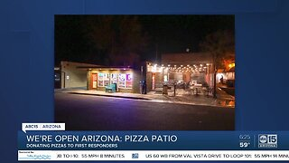 We're Open, Arizona: The Pizza Patio in Flagstaff helping support first responders during COVID-19 pandemic