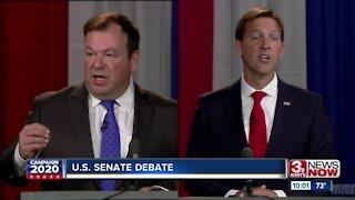 Senate candidates Sasse, Janicek square off in debate