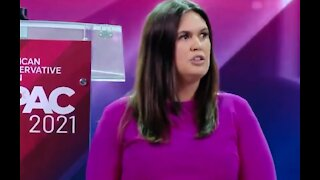 INSPIRING: Sarah Sanders Tells CPAC Where Her Confidence Comes From
