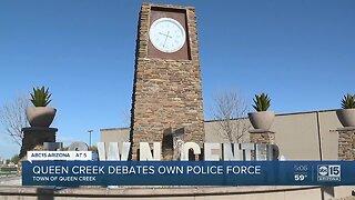 Queen Creek debates having their own police force