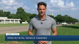 Tulsa police concerned over spike in fatal vehicle crashes