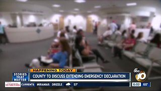 County leaders to consider extending coronavirus emergency declaration