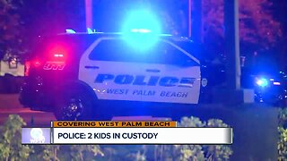 2 juveniles in custody after police activity near Palm Beach Lakes Boulevard gas station