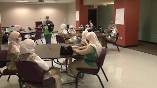 Local Girl Scouts troop collecting items to help children in foster care