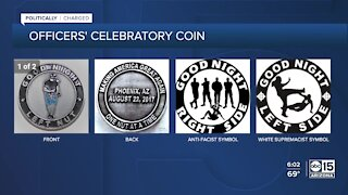Experts discuss 'horrible' Phoenix police challenge coin
