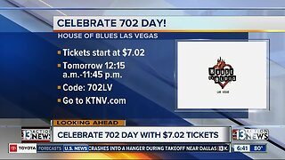 Celebrate 702 day with tickets