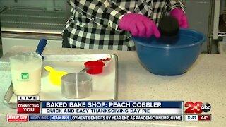 Baked Bake Shop: Peach Cobbler