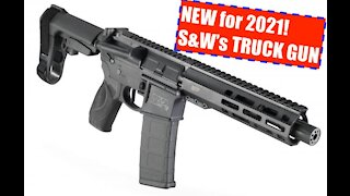 """The NEW for 2021 Smith and Wesson M&P 15 7.5"""" AR Pistol! The 5.56 TRUCK GUN goes mainstream!!!"""