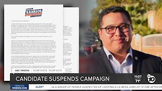 City Council candidate suspends campaign amid ethics allegations