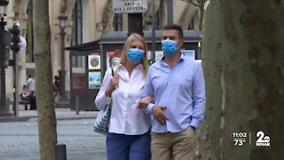 Some Marylanders are divided on the CDC's new guidance on masks