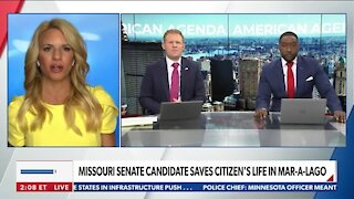 Missouri Senate Candidate Saves Citizen's Life in Mar-A-Lago