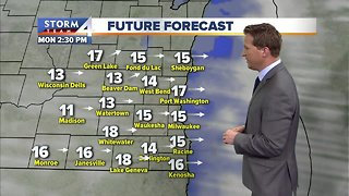 Temperatures near record levels for March