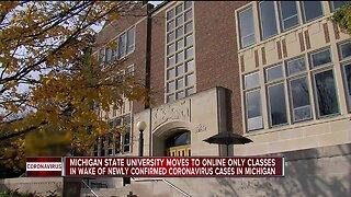Michigan State University switching to virtual instruction amid coronavirus outbreak