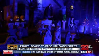 Bakersfield Family looking to raise Halloween Spirits with spooky decorations