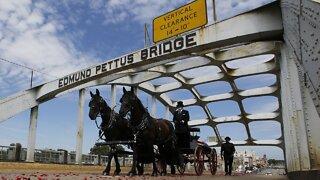 Body Of U.S. Rep. John Lewis Makes Final Journey Across Selma Bridge