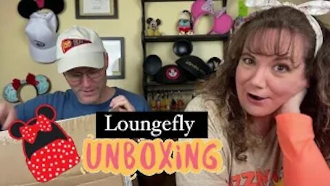 Melinda's FIRST Loungefly Bag!!!