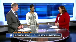 Beware of scammers pulling at your heart strings