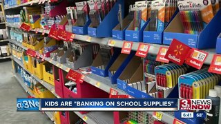 Kids are banking on school supplies