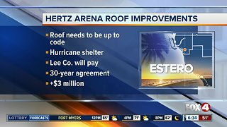 Lee County Commissioners vote on roof improvements for Hertz Arena